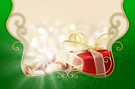 greeting season: Christmas Beautiful Background and season greeting  7