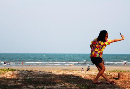 enfant maillot de bain: La photo de l'enfant sur la plage