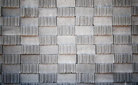 Brick Block the stack in a horizontal shot Stock Photo - 9139019