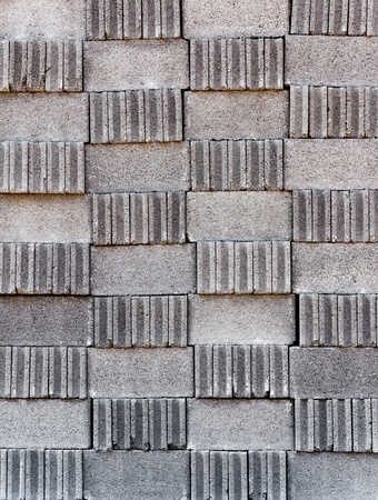 Brick Block the camera vertically stacked together Stock Photo - 9139020