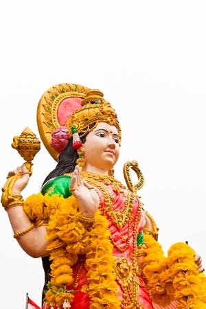 The uma Devi is the god of India photo