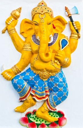 Ganesh is the god of India. Located in Thailand photo