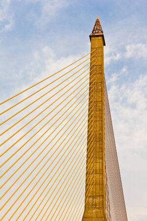 Eight bridge in Bangkok in Thailand photo