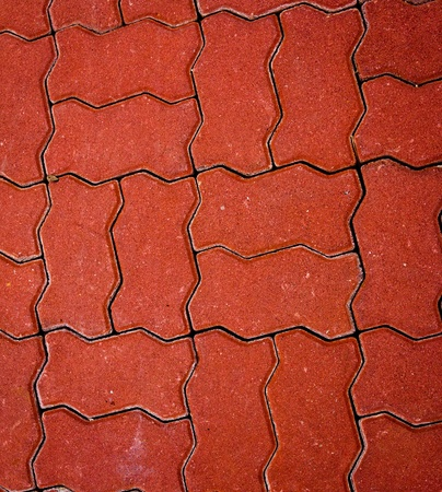 The road surface of the floor tiles Stock Photo - 12916571