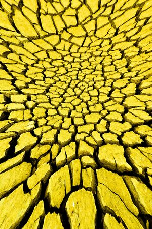 Barren ground. Exposed to ultraviolet light from the sun