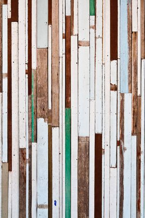 painted wood: Old wood to a wall background texture