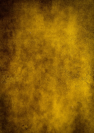 Yellow walls made of cement  texture background photo