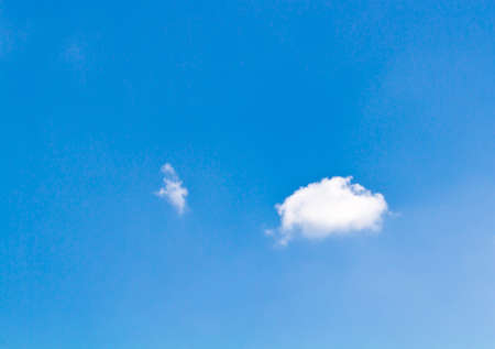 Blue sky with white clouds beautiful bright photo