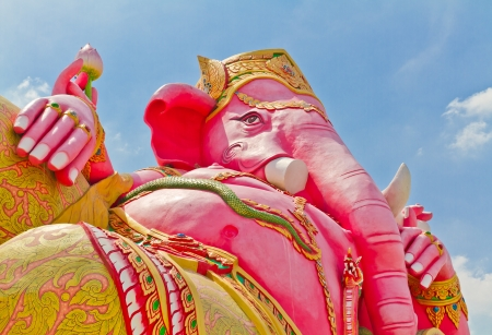 Ganesh is the god of India. Located in Thailand Stock Photo - 17289877