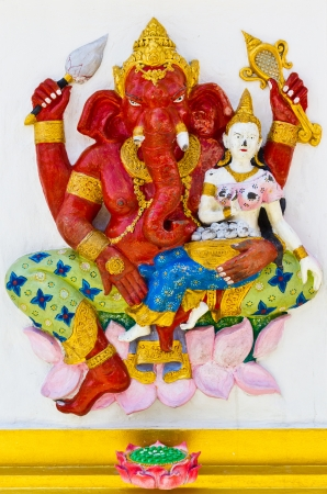 Ganesh is the god of India  Located in Thailand Stock Photo - 17289868