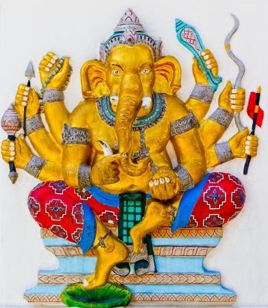 Ganesh is the god of India  Located in Thailand Stock Photo - 17289872