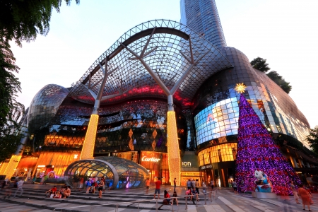 occupying: ION Orchard, formerly known as the Orchard Turn Development or Orchard Turn Site, is a shopping mall by Orchard Turn Developments Pte Ltd, a joint venture between CapitaLand and Sun Hung Kai Properties  It started operating on 21 July 2009, occupying 335