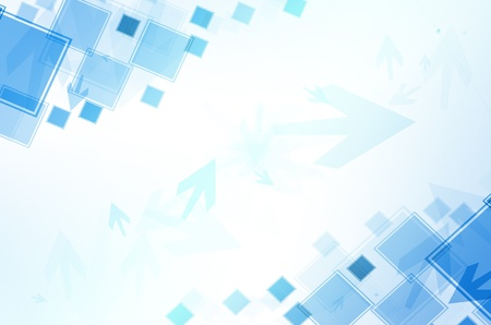 Abstract blue with arrow background  Stock Photo
