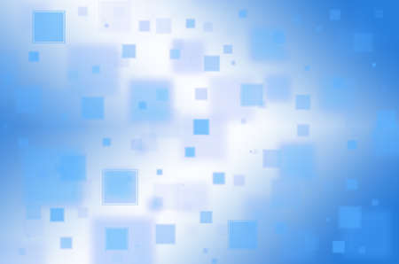 disordered: Abstract blue square background