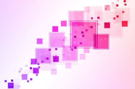 abstract pink red and purple box square background. photo