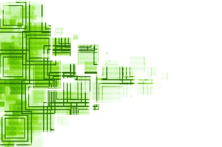 green and white abstract  background. Stock Photo