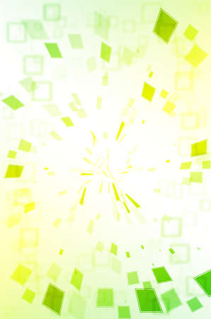disordered: Abstract green and yellow background.