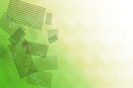 green and yellow abstract background Stock Photo - 14204389