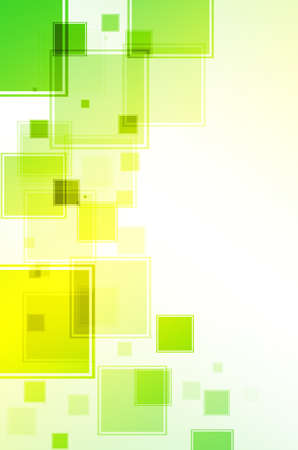 disordered: Abstract green and yellow background