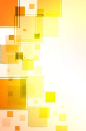 disordered: Abstract orange and yellow background. Stock Photo