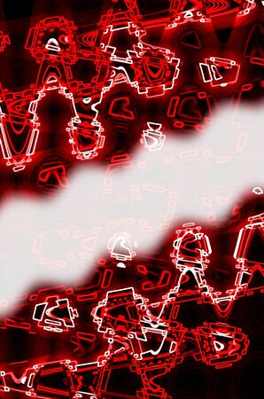 red in dark abstract background. photo
