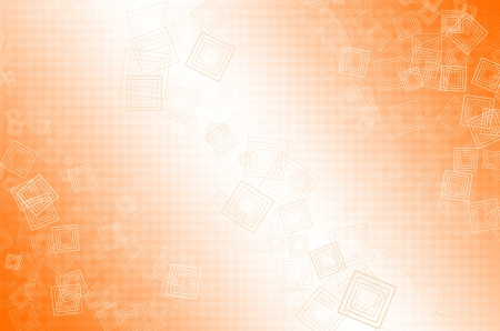 Abstract orange and white background  Stock Photo