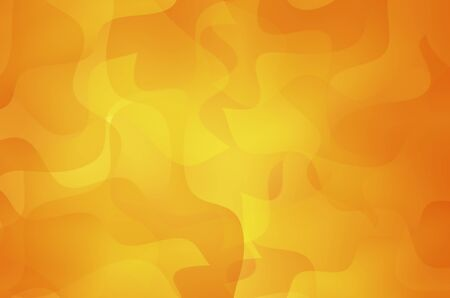 Orange and yellow abstract curves background.  photo
