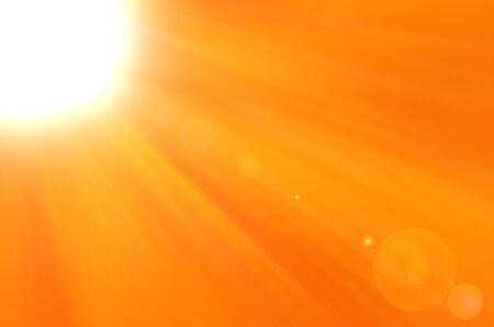 Background texture with warm sun and lens flare Stock Photo - 14409657