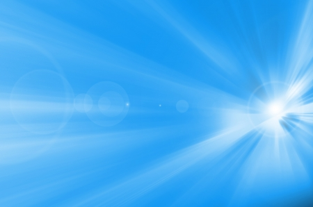 abstract background blue photo