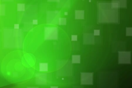 Abstract green lights  photo