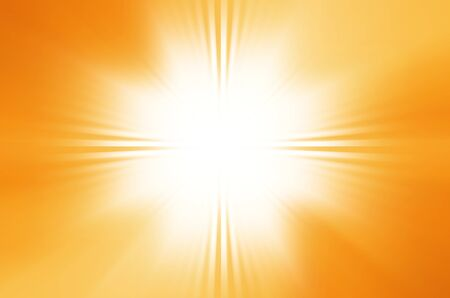 Orange and yellow sunshine  background.  photo