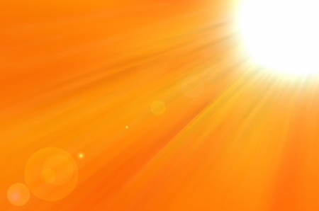 Background texture with warm sun and lens flare Stock Photo - 14712615