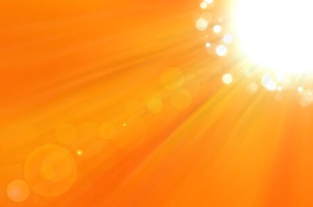sundays: Background texture with warm sun and lens flare