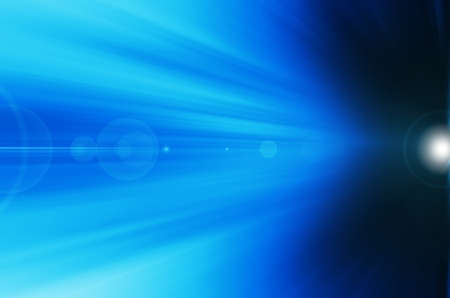 abstract blue sunshine background.  photo
