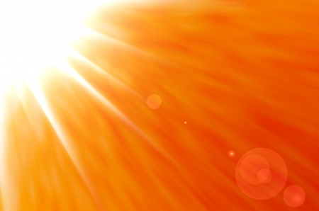 Background texture with warm sun and lens flare  Stock Photo - 14763884