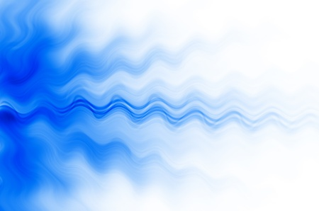 abstract blue lines background. Stock Photo - 14764014