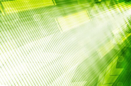 Abstract green technology background  photo