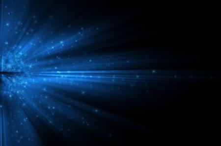 fondos azules: Estrellas en el fondo de fondos azules Foto de archivo