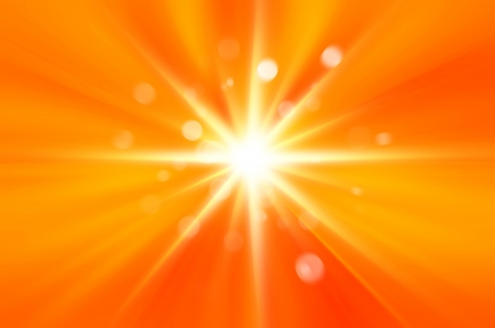 Background texture with warm sun  photo