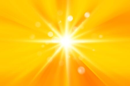 sunburst with yellow background. photo