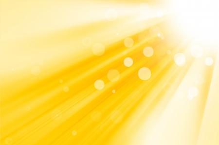 fond jaune avec le soleil Banque d'images