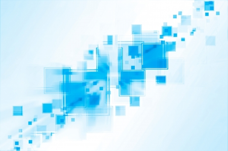 blue abstract background Stock Photo - 14845691