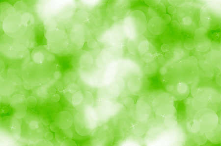 Abstract green bokeh background. Stock Photo