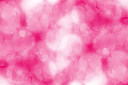 Abstract pink bokeh background. photo