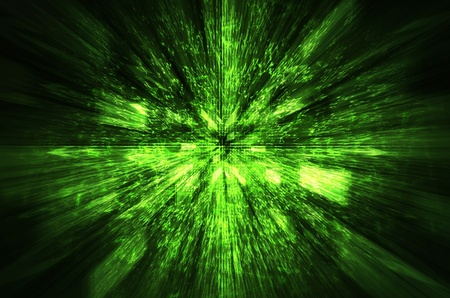 abstract gree  technology background   Stock Photo
