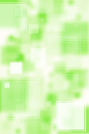 Abstract green with square background  photo
