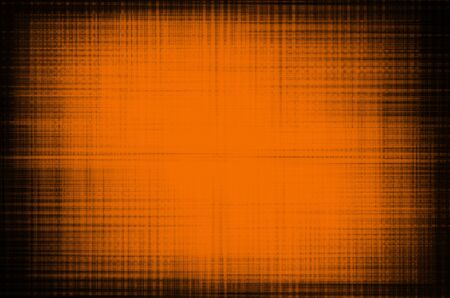 abstract orange lines on the grunge wall