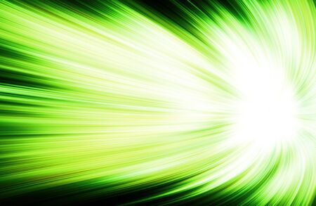 abstract green speed lines background. Stock Photo