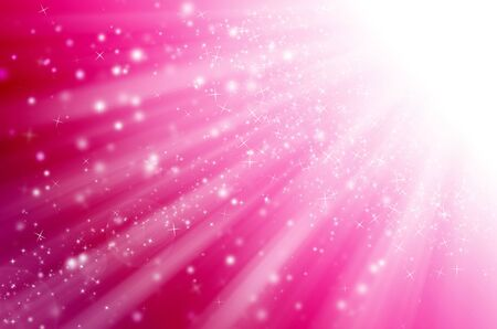 star light with pink background. Stock Photo - 15821648
