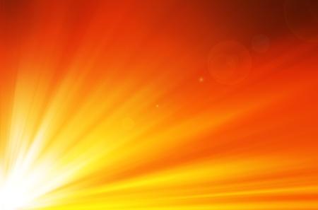 sunshine background with lens flare